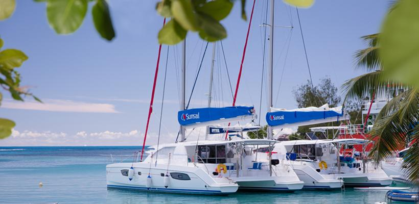Sunsail catamarans